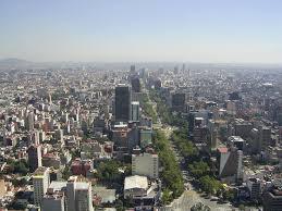 Panorámica del Paseo de la Reforma - Ciudad de México